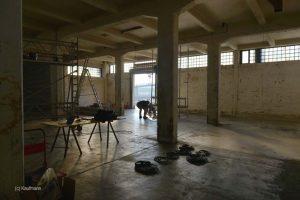 Buildingmemories - Aufbau in der Halle6