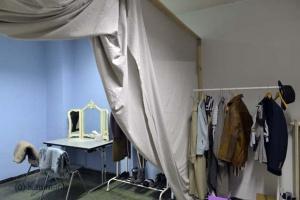 Bautagebuch vom 23.11. - Garderoben sind eingerichtet